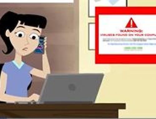 Aviod Internet pop up Tech Scams