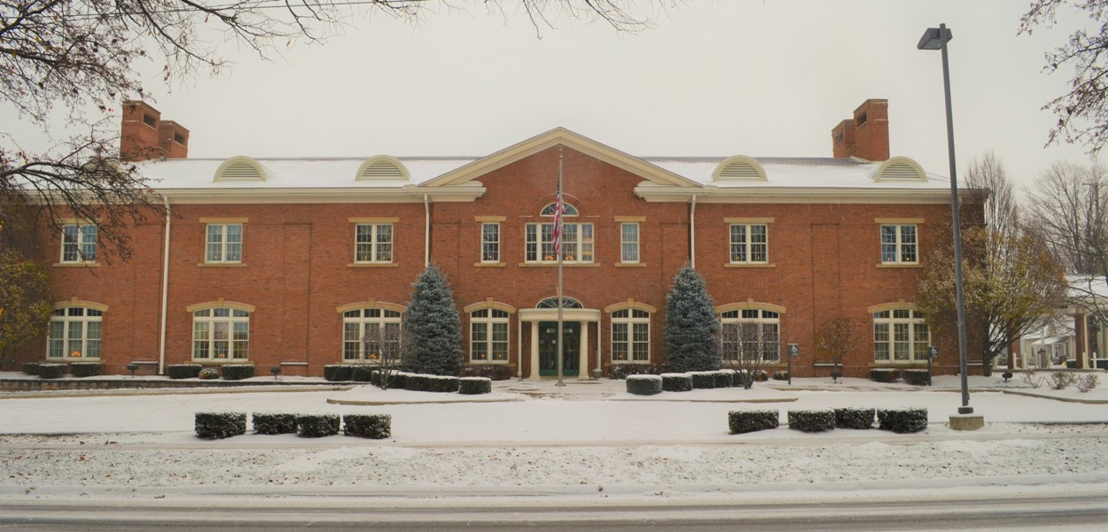 Front of PSALC in winter